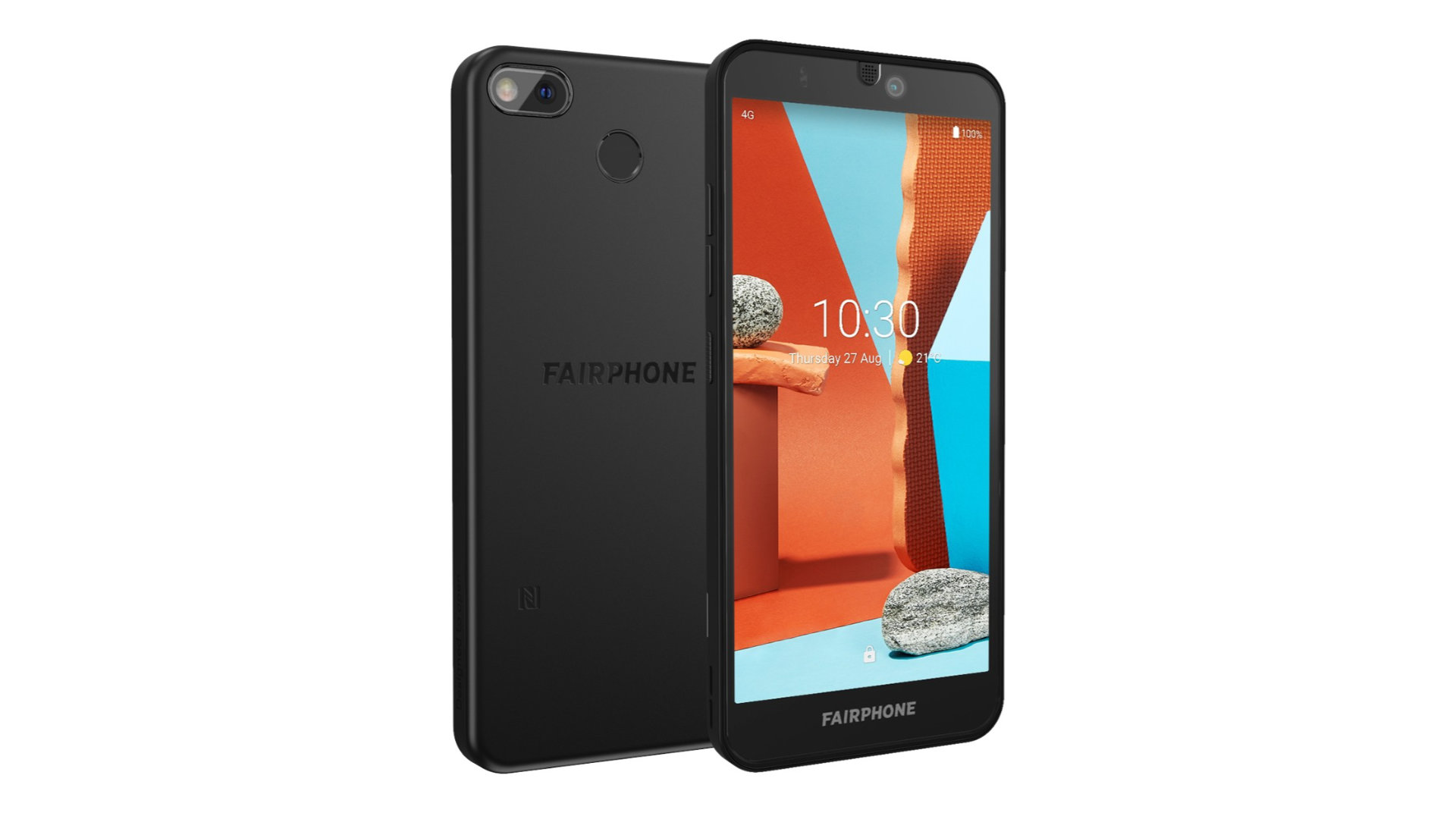 Fairphone 3+ perspektivisch